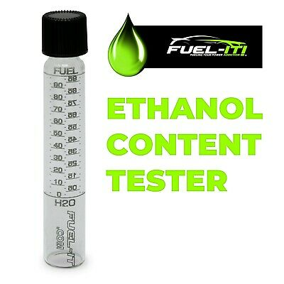 VIAL ONLY E85 /& Gasoline 1 Glass Laser Etched Fuel Tester for Ethanol
