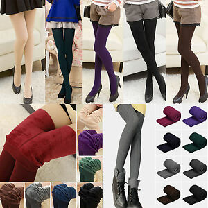 Women-039-s-Thermal-Thick-Warm-Fleece-lined-Fur-Winter-Cotton-Tight-Leggings-Pants