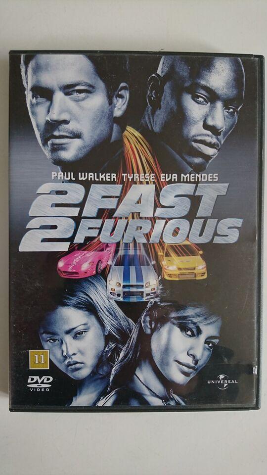 2 Fast 2 Furious, instruktør John Singleton, DVD