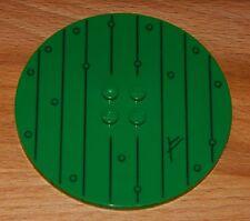LEGO hobbit house DOOR dark green round wooden from set 79003 RARE BRAND NEW