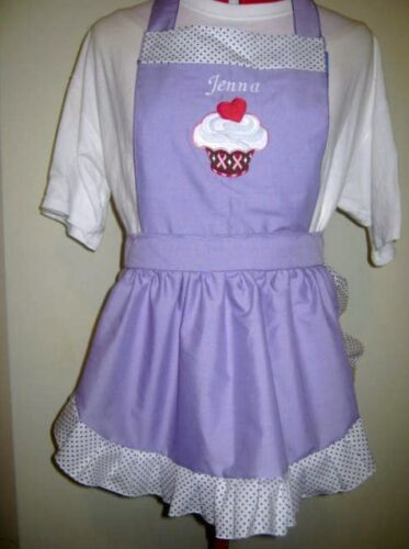 PERSONALISED GIRLS CUPCAKE HOUSE APRON Many other designs GREAT CHRHISMAS GIFT