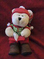 2010 Holiday Starbucks 97th Edition Mouse Writer Bearista Bear Plush 10