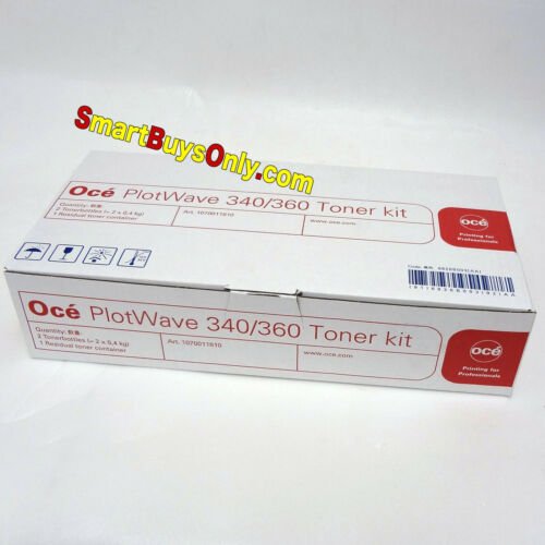 Oce Plotwave 340 360 OEM Black Toner for Océ Plotewave340 1070011810 NEW