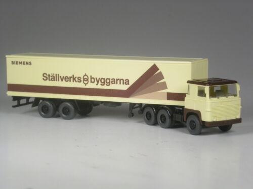Wiking Schweden Scania 111 Siemens Ställverks Byggarna Sverige TOP