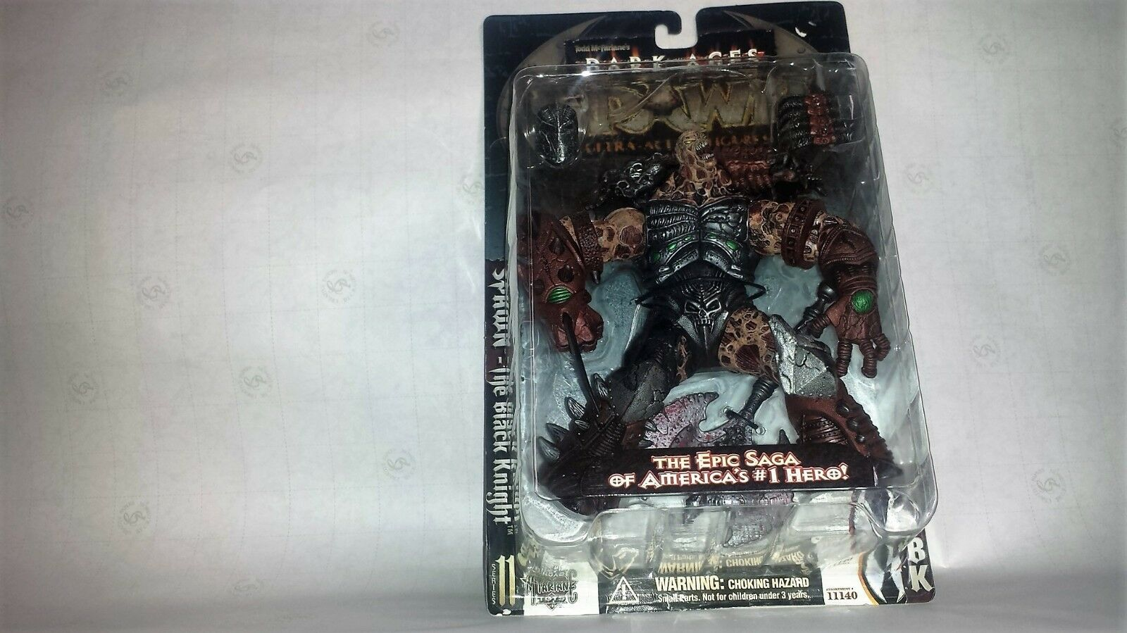 MCFARLANE TOYS SPAWN THE DARK AGES SERIES 11 COMPLETE SET OF 6 FIGURES plus one