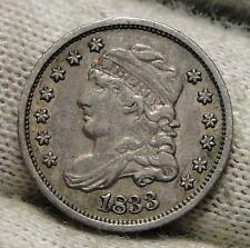 1833 H10C Capped Bust Half Dime