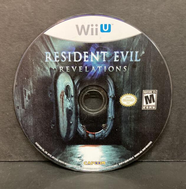 Resident Evil Revelations (Nintendo Wii U, 2013) Disc Only