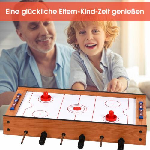 2 in 1 Spieltisch Air Hockeytisch Multifunktionsspieltisch Multi-Spieltisch