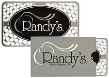 Randy's metal Credit Card Size Grinder/Shredder Card 4 Coarseness Levels