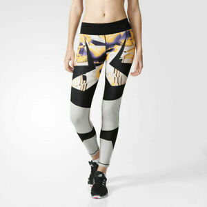 adidas-Women-039-s-Wow-Graphic-Fitness-Gym-Running-Premium-Fitted-Tights-AP9532