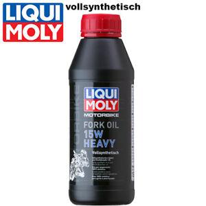 Liqui Moly Motorbike Gabelöl 1524 15W heavy vollsynthetisch 500ml Fork oil