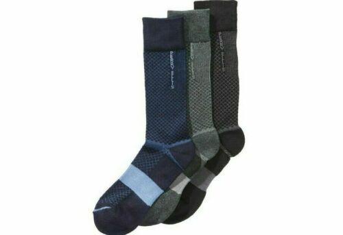 C-Fit Comfort Performance Dress Socks Size 7-12 Perry Ellis Men/'s 3 Pack