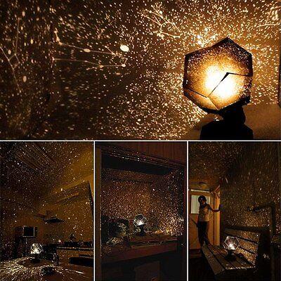 New DIY Starts Astrostar Star Laser Planetarium Projector Light Lamp Kids Gift