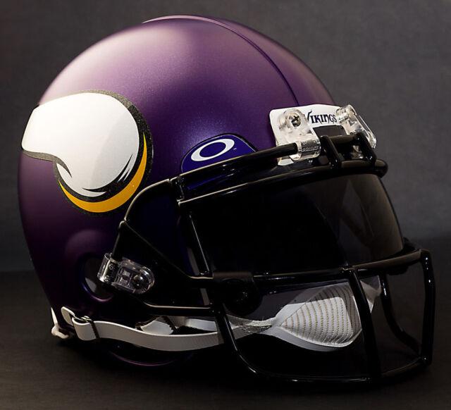 Buy Riddell Minnesota Vikings ProLine Authentic Football Helmet ... 5f900243e