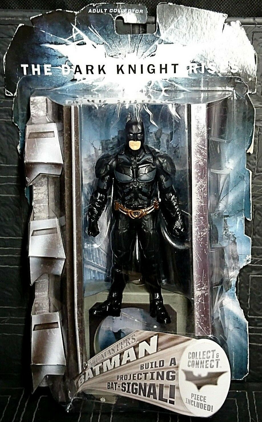 Batman The Dark Knight Rises BATMAN Movie Masters DC Bale 6  Figure New