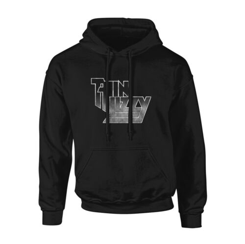 NEW Thin Lizzy /'Logo Gradient/' Pullover Hoodie