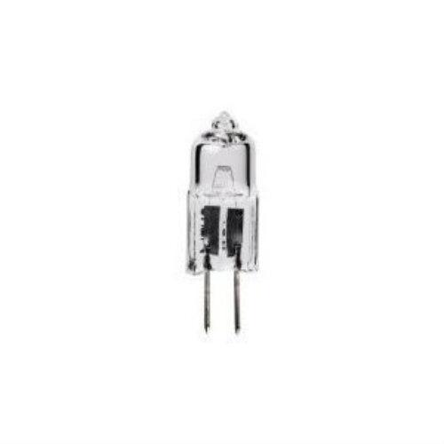 Pack of 20 5 watt 12 volt T3 Bi-Pin G4 Base Clear Halogen Light Bulb 12V Lamp