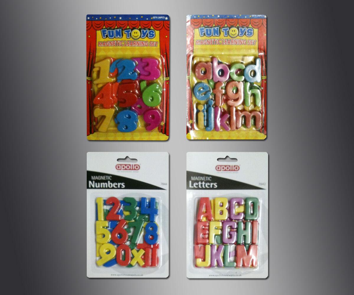 Réfrigérateur Magnétique Numéro & Lettres de L'Alphabet Enfants Apprentissage
