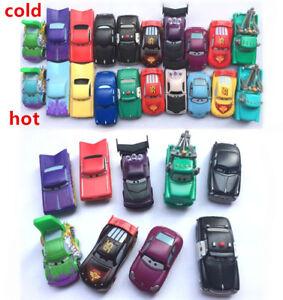 McQueen-Mater-Sheriff-originale-Mattel-Disney-Colore-Changer-Veicoli-Cars-regali