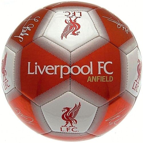 LIVERPOOL FC 2019 Official Gift Size 1 CHILDS Ball Signature Football Red LFC