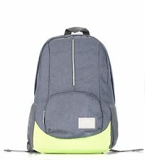 Bipra 15.6 Laptop Bag Backpack School College Bags for Macbook Pro (Grey&Green)