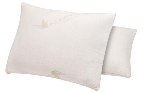 memory foam pillow with aloe vera cover