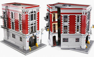 LEGO-COM-MATTONCINI-CASERMA-POMPIERI-GHOSTBUSTERS-4705-PEZZI-CONSEGNA-IN7GIORNI