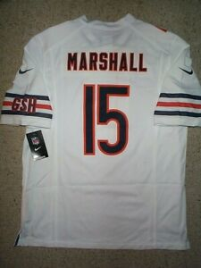 100) NIKE Chicago Bears BRANDON MARSHALL nfl Jersey Adult MENS ...