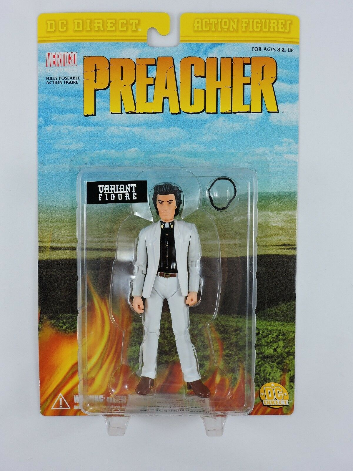 PREACHER Variant Figure bianca Suit Jesse Custer DC Direct Vertigo AMC new MOC
