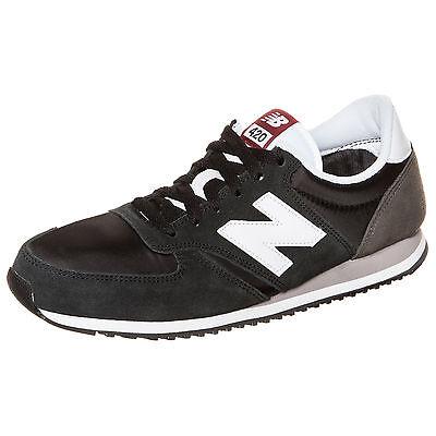 New Balance U420-CGW-D Sneaker Schwarz NEU Schuhe Turnschuhe
