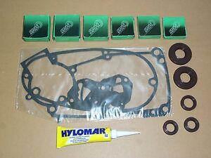 Lagersatz Simmeringe Brau Dichtungen Silikon für Simson S51 SR50 Schwalbe KR51//2