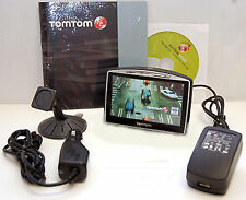 "TomTom GO 730T Car Portable GPS Navigator LIFETIME TRAFFIC Unit 4.3"" LCD tom set"