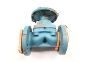 Dow-Manual-Steel-Flanged-Diaphragm-Valve-150-2in