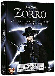 ZORRO-Complete-TV-Series-1-3-Guy-Williams-Disney-NEW-REGION-2-Box-Set-13-DVD