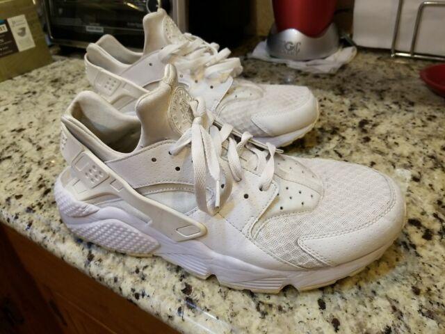 Size 13 - Nike Air Huarache All White