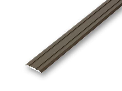 5,99EUR//m 25mm Übergangsprofil flach bronze selbstklebend Laminatprofil≤1,50 m