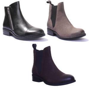 info for e27e3 abe07 Details zu Vagabond Cary Damen Leder Matt Chunky Zip Schwarz Ankle Stiefel