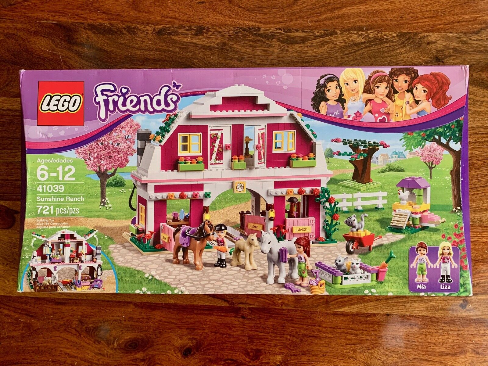 NEUF Lego Friends 41039 Sunshine Ranch