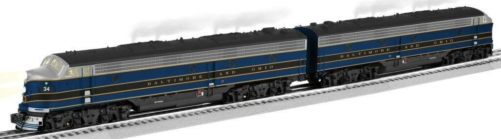 O-Gauge - Lionel - Baltimore & Ohio E-7 AA Diesel Locomotive Set