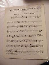 Partitur Concerto dello scoiattolo Promenade de l'eichhörnchen Oboe Aubin