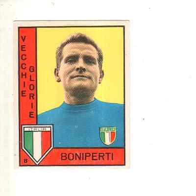 BONIPERTI FIGURINA CALCIATORI PANINI 1962//63 VECCHIE GLORIE