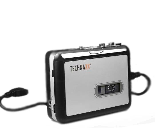 Technaxx Digi Bande DT-01 Cassettes Digitalisierer Lecteur Mc MP3 Retro