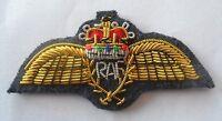 RAF Wings Badge, Mess Dress, Royal Air Force, R.A.F, New, Rank, Army, Military