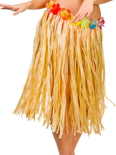 60cm Hawaiian Hula Raffia Grass Skirt Fancy Dress Party Hen Night Beach New