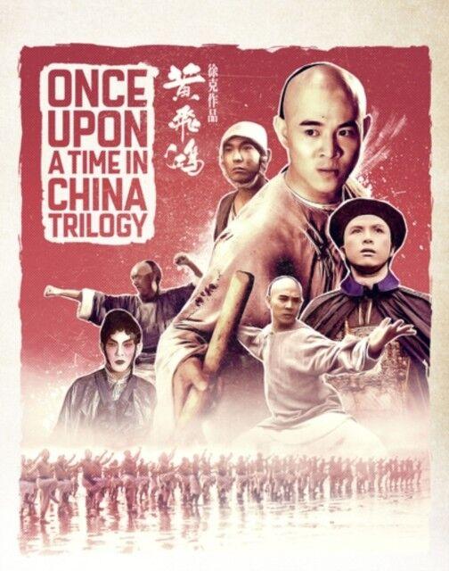 Nuovo Once Upon a Time in Cina Trilogia Edizione Limitata Blu-Ray