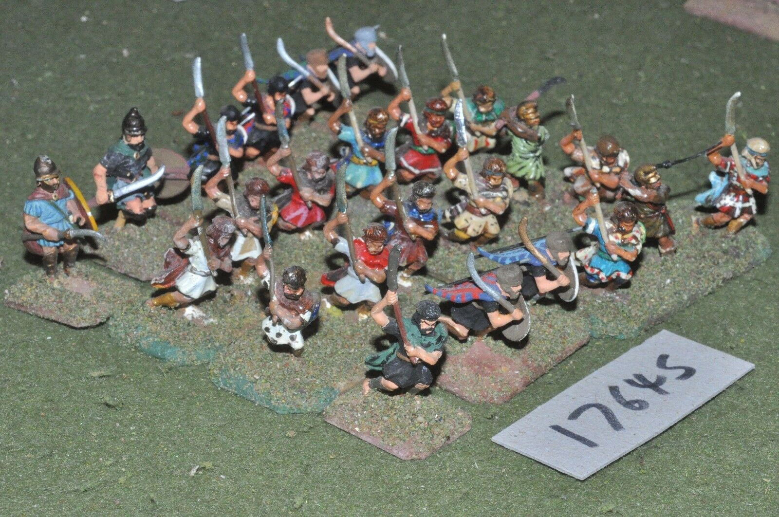 25mm classical   thracian - warriors 14 figs - inf (17645)
