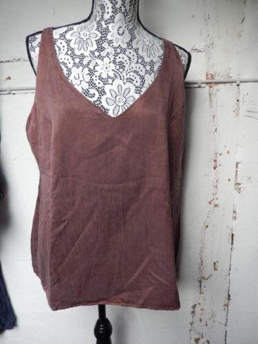 Top Xxl Brown Cocon Private Copper Size Silk Silk Things Copper Commerz Brown qXwfgPwt