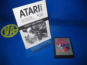 Juego-Para-Consola-Atari-2600-VOLLEYBALL-sin-Caja-con-instrucciones-1986