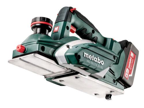 Metabo 602082700 18 V 2x4.0Ah Li-Ion Sans fil Raboteuse Kit