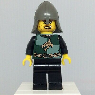 LEGO Castle Minifig Dragon Knights Majisto Wizard with black plastic cape